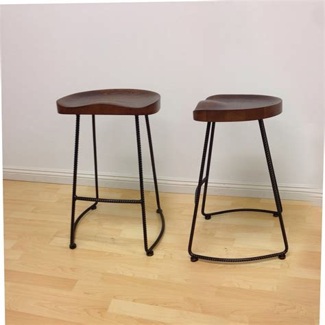 Counter Stools With Metal Legs potter wood counter stool metal leg 2 pack