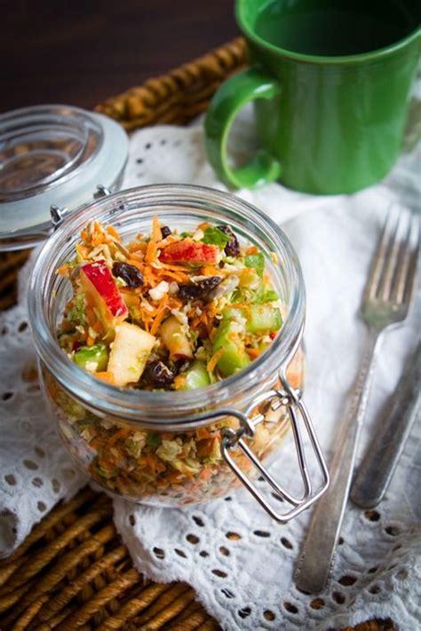 Fall Detox Ideas by Fall Detox Salad Brussels Apples Carrots Raisins