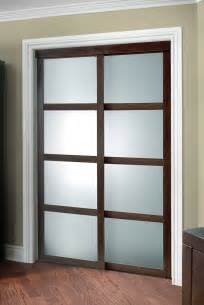 Frosted Glass Closet Sliding Doors Fusion Plus Closet Door Colonial Elegance