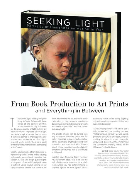 everything in between books from book production to prints and everything in