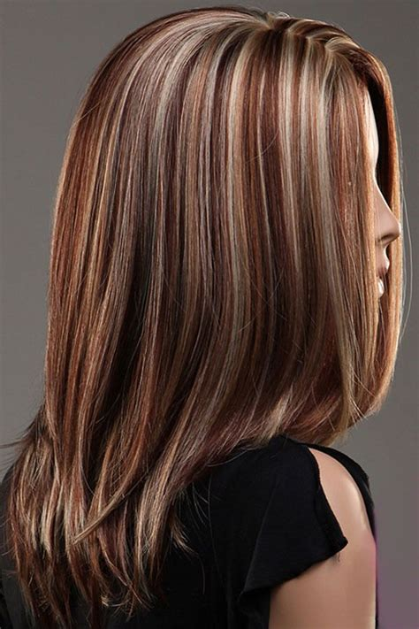 medium length hair style low lights best 25 hair with highlights ideas on pinterest brown