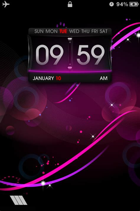 html lockscreen themes hd lockscreen theme ls purple for iphone 4 free download