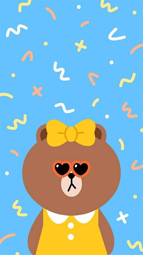 Wallpaper Sticker 215 215 best brown cony images on cony brown