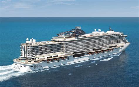 msc to msc cruises celebrates one year countdown to revolutionary