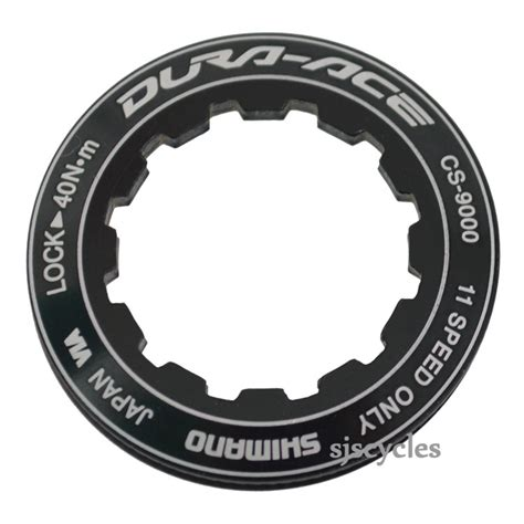 dura ace 9000 cassette ratios shimano dura ace cs 9000 lock ring spacer