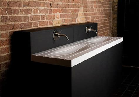 modern sink and wash basin designs 171 adriana sassoon stylish and beautiful white sink in oceanic wave form