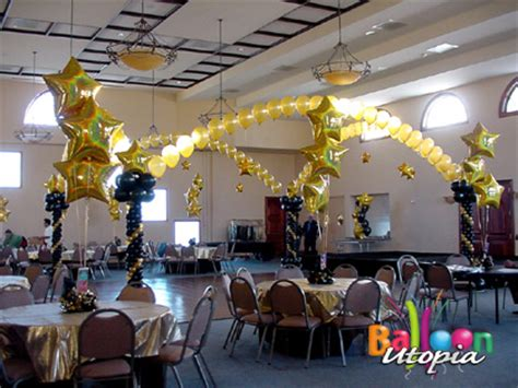 Decoration For Engagement Party At Home by Black And Gold Dancefloor Balloon Utopia