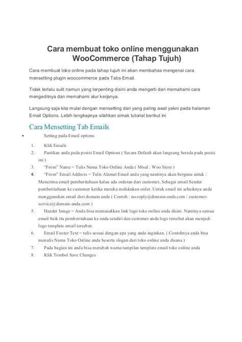membuat slogan toko cara membuat toko online menggunakan woo commerce