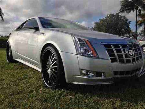 cadillac cts coupe for sale by owner purchase used 2011 cadillac cts performance coupe 2 door 3