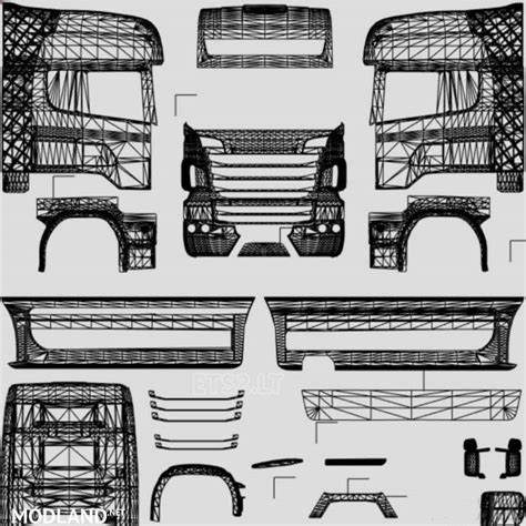 all truck template all trailer template mod for ets 2