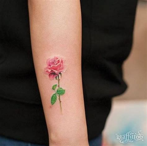 rose small tattoo best 25 small tattoos ideas on small