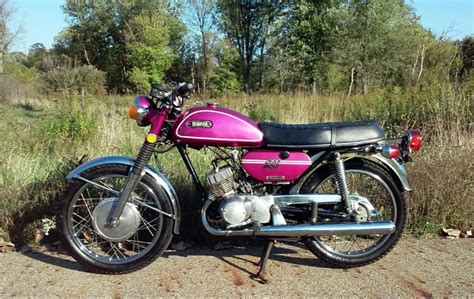 1971 motorcycle yamaha 200 cs3 b purple 1971 kawasaki vehicles for sale