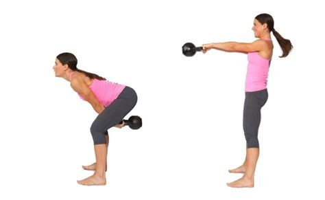 Kettlebell Swing Benefits by 10 Best Kettlebell Exercises And Their Benefits
