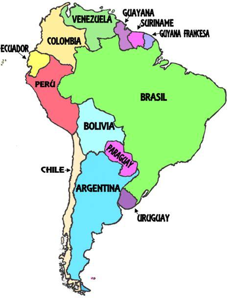imagenes de mapa sudamerica como estar en clase am 201 rica del sur mapas pinterest
