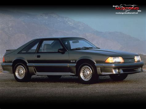 5 liter mustang ford mustang 1979 1993 3rd generation amcarguide
