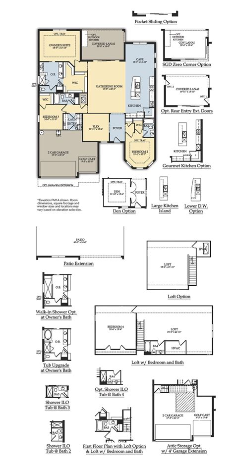 del webb anthem floor plans tangerly oak