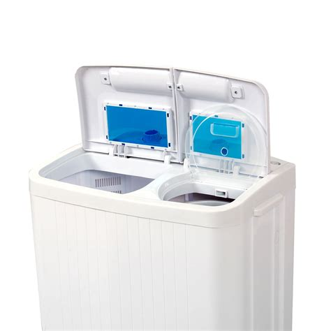 Portable Washing Machine Compact Wash Spin Dry Cycle Portable Laundry