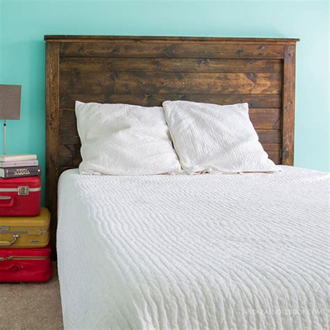 diy wood pallet headboard diy headboard ideas 16