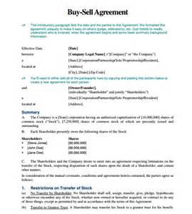 Buy Sell Agreement Template Free Buy Sell Agreement Forms Pictures To Pin On Pinterest
