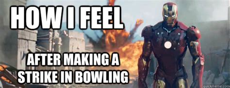 Funny Bowling Memes - iron man meme bowling image memes at relatably com