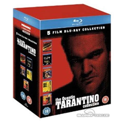quentin tarantino film print collection the quentin tarantino collection 5 film blu ray