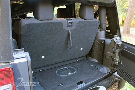 Jeep Wrangler Cargo Space 2016 Jeep Wrangler Willys Wheeler Review Carsquare