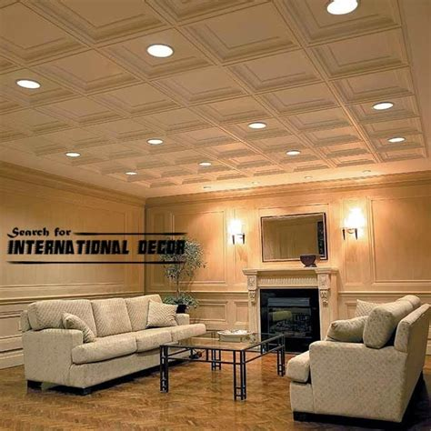 Suspended Ceiling Tile Patterns by Decorative Ceiling Tiles With Original Designs And Types