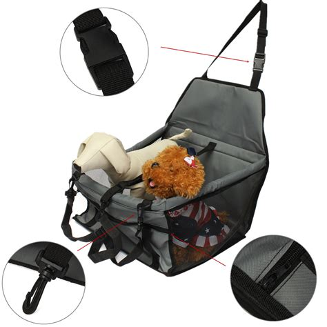 car seat pet carrier folding pet cat puppy car seat safety belt cover