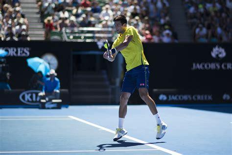 australian open semifinals federer in nike vs djokovic in adidas footwear news