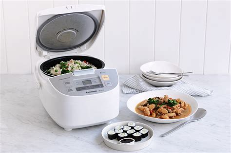 Panasonic Magic Rice Cooker Sr Cez18drsr sticky sushi rice recipe the ideas kitchen by panasonic australia