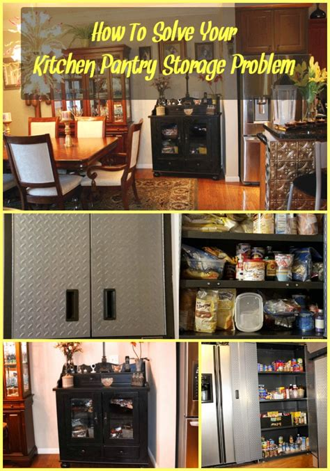 how to solve your kitchen pantry storage problem sassy