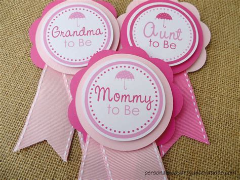 Personalized Baby Shower Pins For Guest by Baby Shower To Be Pin Pictures To Pin On