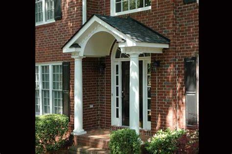 porticos gallery front door overhang front porch