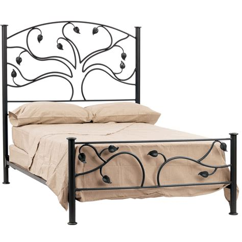 wrought iron bed frame live oak bed