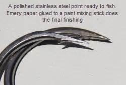 sharpening hooks gamefishing sharpening hooks the fishing website