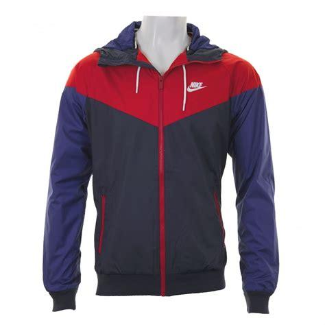Jaket Nike Parasut Windrunner Blue nike mens windrunner 316 jacket blue navy mens from loofes uk