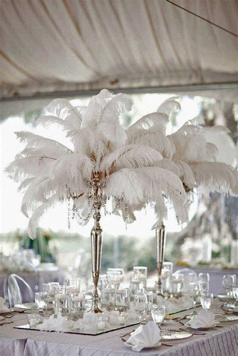 centerpieces with feathers and flowers 25 best feather wedding centerpieces ideas on