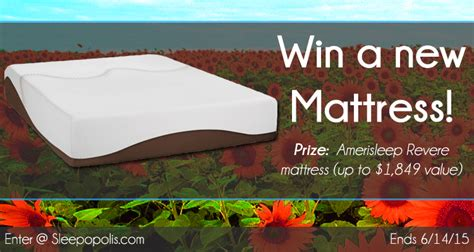 Mattress Giveaway - amerisleep mattress giveaway sleepopolis