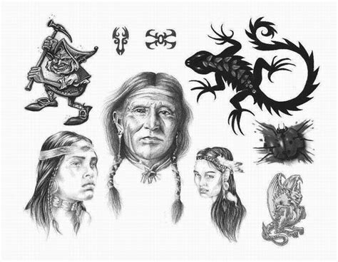 apache indian tattoo designs design apache indian designs flash