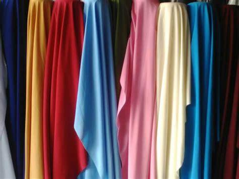 bahan kain jilbab bahan wolfis atau woolpeach itu apa inilah karakteristik