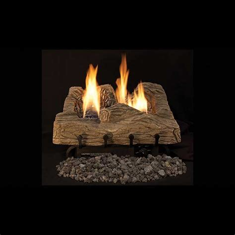 ceramic gas fireplace logs ihp superior townsend bark ceramic fiber vf gas logs