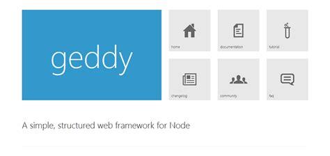 simple node js web framework 14 web application frameworks for node js