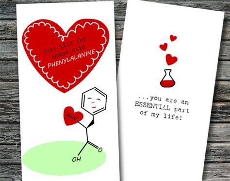 science valentines cards mini science valentines day cards set of 12 biology