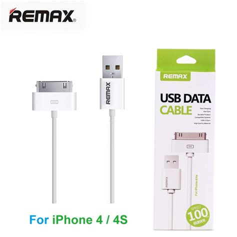 Kabel Data Remax 100cm Fast Data Charging remax fast charging 30 pin to usb cable for iphone 4 4s white jakartanotebook