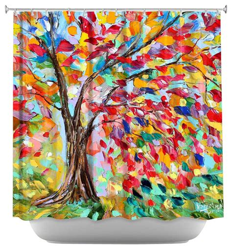 Artistic Shower Curtains by Dianoche Shower Curtain Poetry Of A Tree