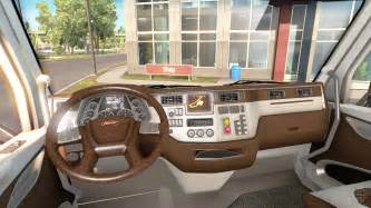 the new color peterbilt 579 interior for american truck