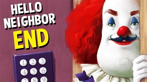 hello neighbor fan games hello neighbor horror game ending we found the secret