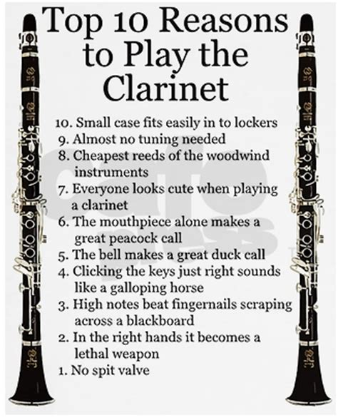 clarinet jokes tumblr