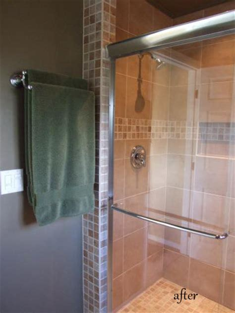 master bathroom check before and after one house one