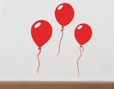 Wall Sticker Balon Uk 60x90cm vinyl stickers for balloons